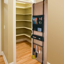 Home 6 Compartment Right-At-Home Over Door Organizer