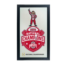 Ohio State University National Champions Framed Mirror