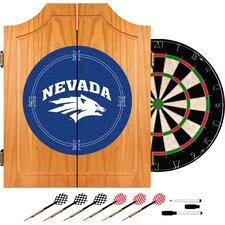 NCAA Dart Cabinet in Wood
