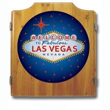 Las Vegas Dart Cabinet Set