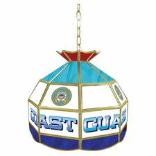 United States Coast Guard Stained Glass Tiffany Lamp