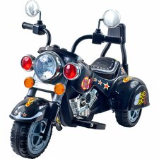 Harley Style Wild Child Battery Operated Motorcycle in Black
