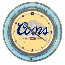 "14"" Coors Neon Wall Clock"