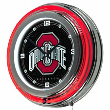 "14"" NCAA Neon Wall Clock"