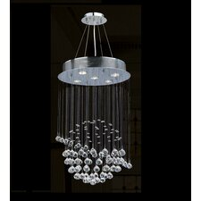 Icicle 5 Light Chandelier