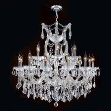 Maria Theresa 19 Light Crystal Chandelier