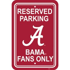 NCAA Parking Sign