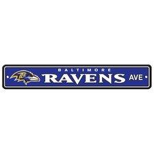 NFL Street Sign