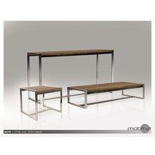 Motif Reclaimed Elm Wood End Table