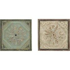 2 Piece Décor Roman Floral Wall Décor Set