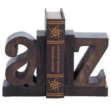 Wooden Bookend