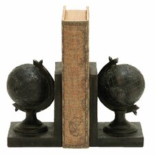 World Globe Themed Bookend (Set of 2)