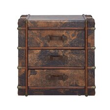 Centuries 3 Drawer Wood Chest