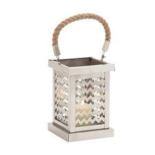Elegant Stainless Steel Glass Lantern