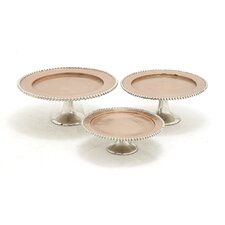 The Exquisite Cake Stand 3 Piece Set