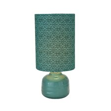 """Ceramic 23"""" H Table Lamp with Drum Shade"""