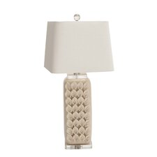 """Cool 31"""" H Table Lamp with Rectangular Shade"""