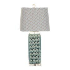 """Most Beautiful 31"""" H Table Lamp with Rectangular Shade"""