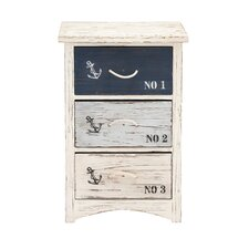The Cool Wood Nautical 3 Drawer Chest