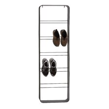 The Ingenious Metal Wall Shoe Rack