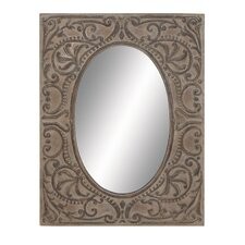 Flawless Metal Wall Mirror