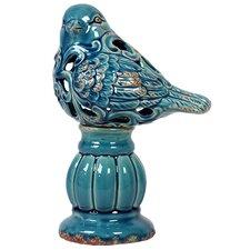 Exquisite and Beautifully Carved Ceramic Bird Figurine