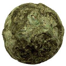 Antique Stoneware Ball Decorative