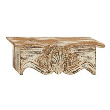 Traditional and Classy Wood Wall Shelf