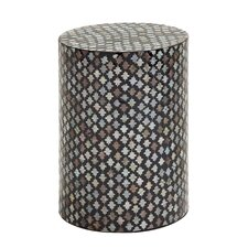 Cool and Colorful Wood Inlay Stool
