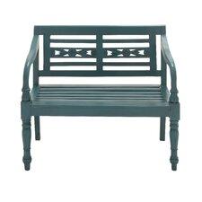 Cool in Green Wood Garden Bench