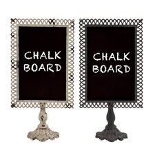 Free-Standing Chalkboard (Set of 2)