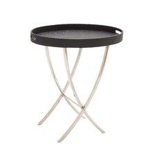 Striking Stainless Steel Wood Vinyl Tray Table