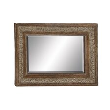 Unique Styled Metal Wall Mirror