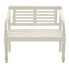 Lovely and Comfortable Wood Garden Bench