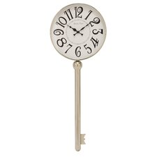 Stylish Stainless Steel Key Wall Clock