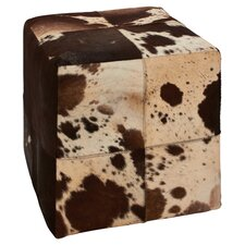 Wonderful Leather Square Ottoman