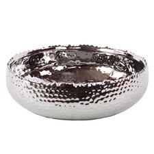 Hammered Round Decorative Bowl