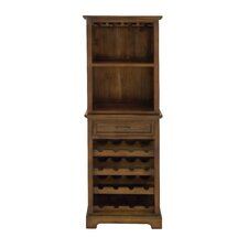 Sturdy and Stunning 16 Bottle Wine Cabinet