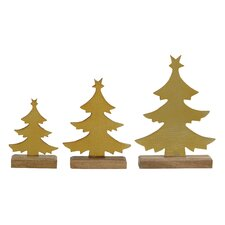 3 Piece Xmas Tree Set