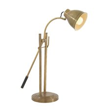 "Elegant 27"" Table Lamp with Bell Shade"