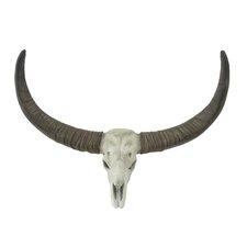 Spectacular Long Horn Skull Wall Décor