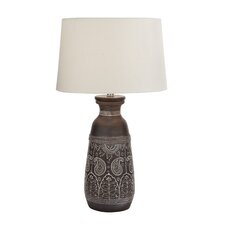 "Elegant 28"" Table Lamp with Empire Shade"