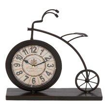 4 Piece The High Wheel Bicycle Desk Clock Set