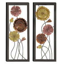 2 Piece Exquisitely Designed Wall Décor Set