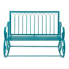 Comfortable Metal Garden Bench
