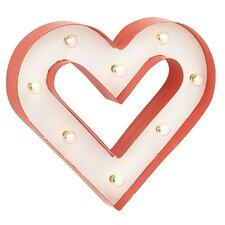 Classy LED Heart Wall Decor