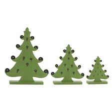 3 Piece Christmas Tree Set