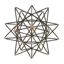 Wire Star Sculpture