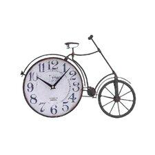 Metal Bicycle Quartz Standing Clock