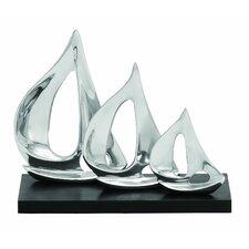 Décor Three Sail Sculpture